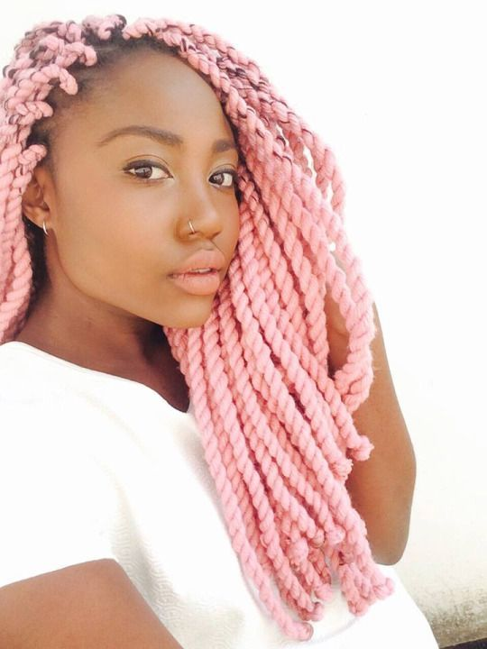 30 Fashion Kinky Twist Hairstyle Ideas for Fall 2019 11