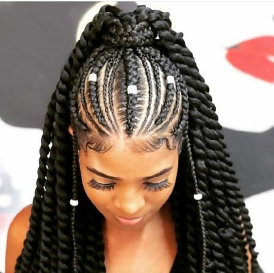30 Fashion Kinky Twist Hairstyle Ideas for Fall 2019 4