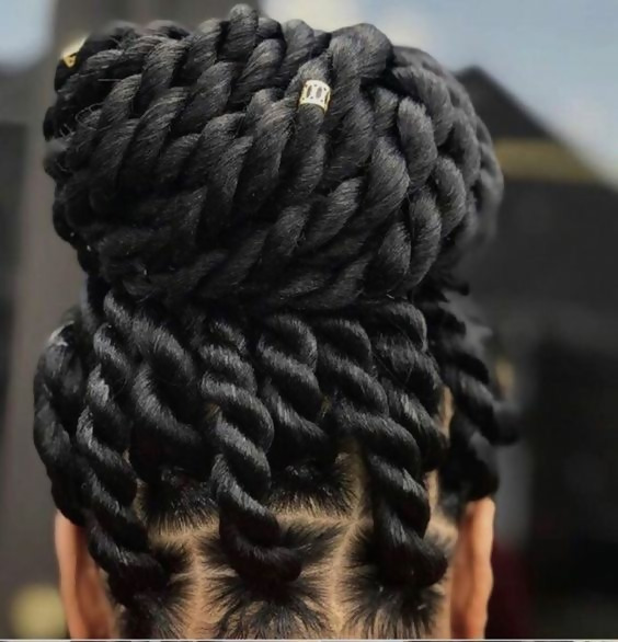 30 Fashion Kinky Twist Hairstyle Ideas for Fall 2019 12