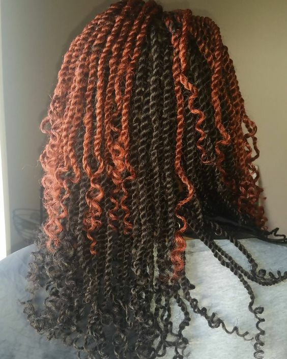 30 Fashion Kinky Twist Hairstyle Ideas for Fall 2019 15