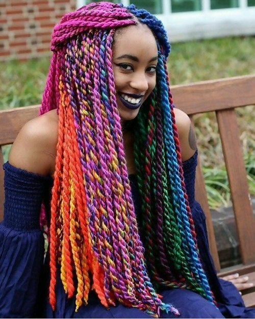 30 Fashion Kinky Twist Hairstyle Ideas for Fall 2019 19
