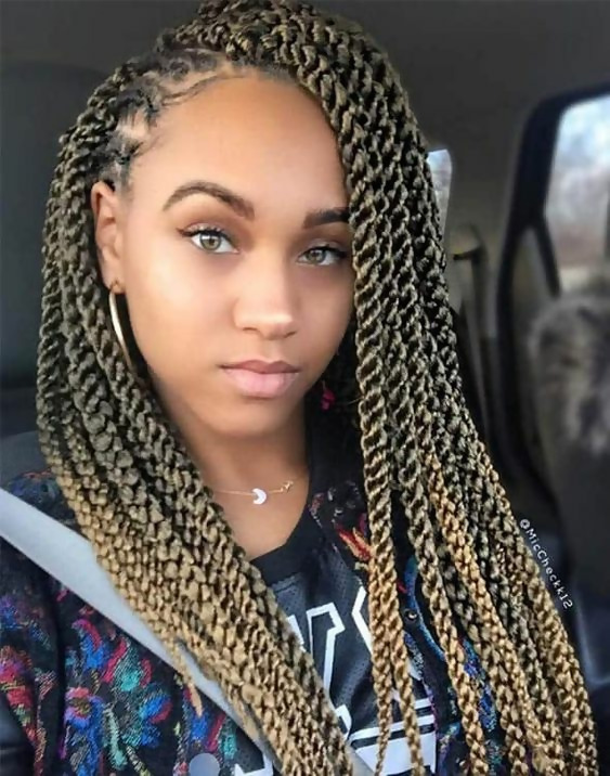 30 Fashion Kinky Twist Hairstyle Ideas for Fall 2019 20