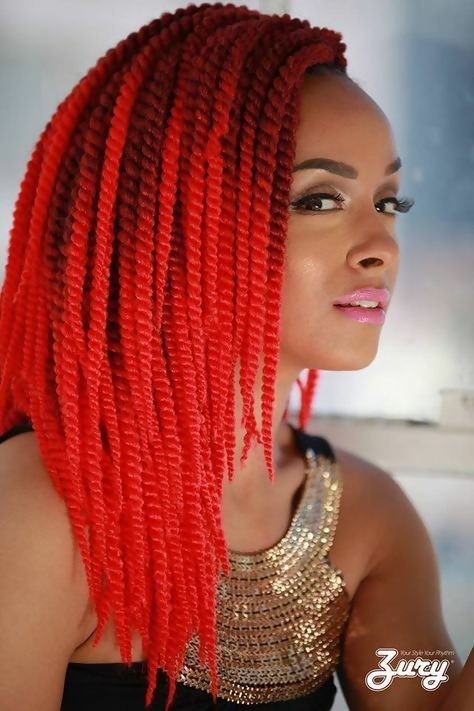 30 Fashion Kinky Twist Hairstyle Ideas for Fall 2019 22