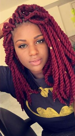 30 Fashion Kinky Twist Hairstyle Ideas for Fall 2019 25