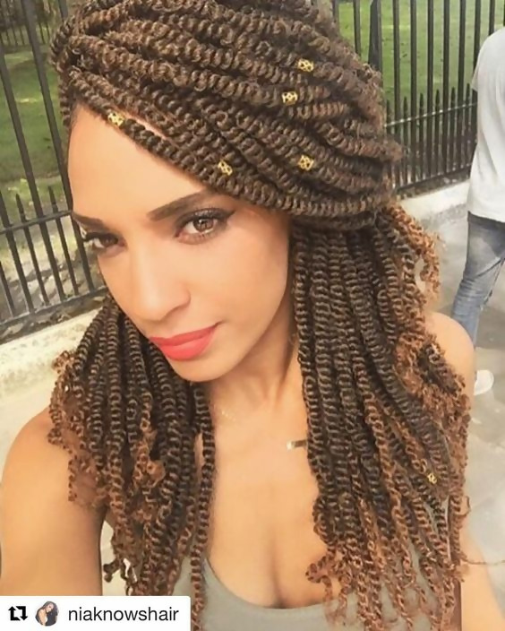 30 Fashion Kinky Twist Hairstyle Ideas for Fall 2019 28