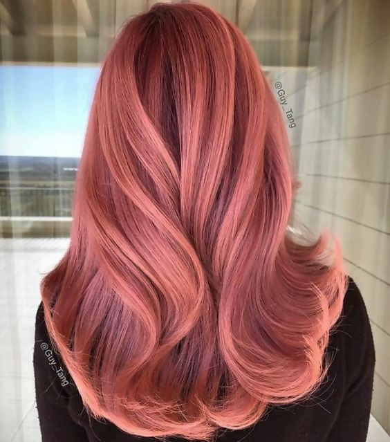30 Delicious Rose Gold Hair Color Ideas For The All Season 1