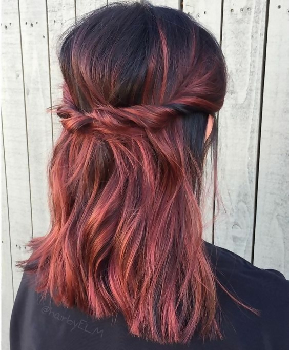 30 Delicious Rose Gold Hair Color Ideas For The All Season 3