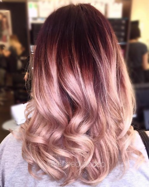 30 Delicious Rose Gold Hair Color Ideas For The All Season 5
