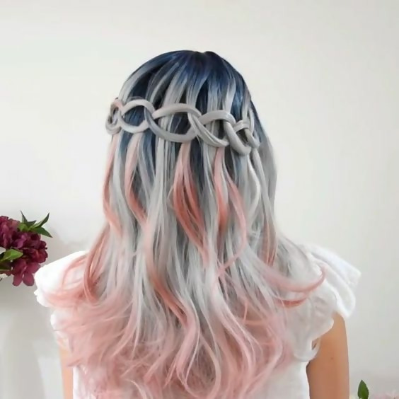 30 Delicious Rose Gold Hair Color Ideas For The All Season 8
