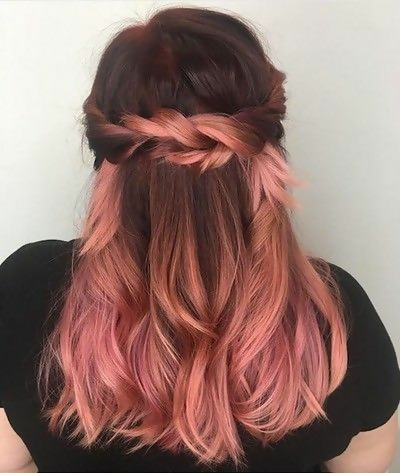 30 Delicious Rose Gold Hair Color Ideas For The All Season 11