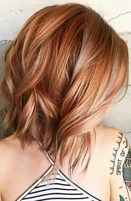 30 Delicious Rose Gold Hair Color Ideas For The All Season 16