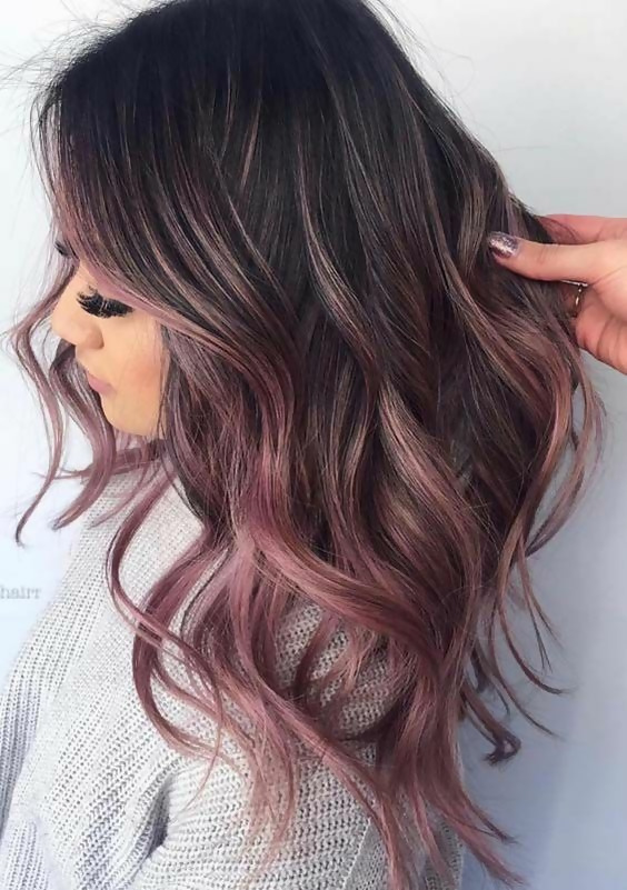 30 Delicious Rose Gold Hair Color Ideas For The All Season 20