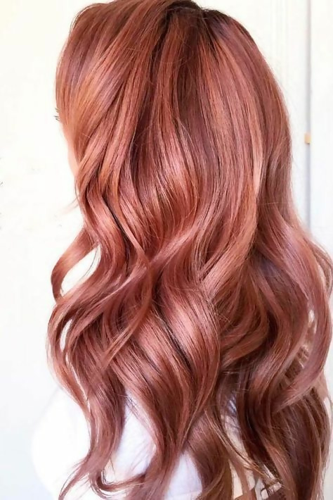 30 Delicious Rose Gold Hair Color Ideas For The All Season 21