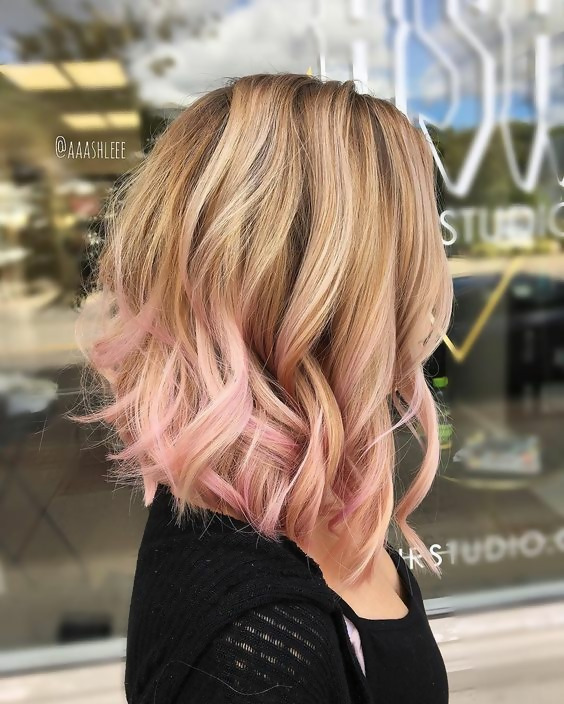 30 Delicious Rose Gold Hair Color Ideas For The All Season 22