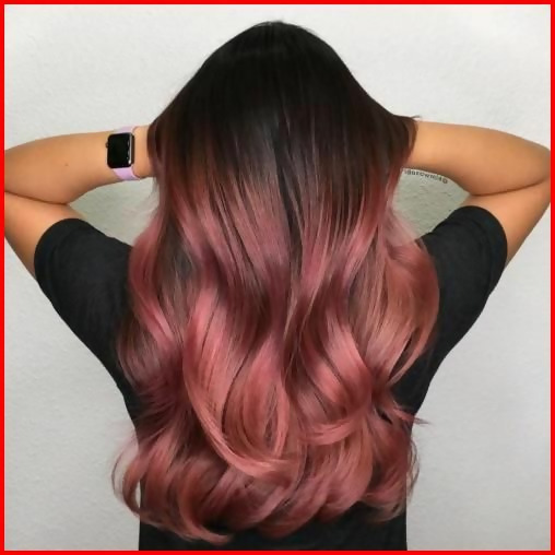 30 Delicious Rose Gold Hair Color Ideas For The All Season 24