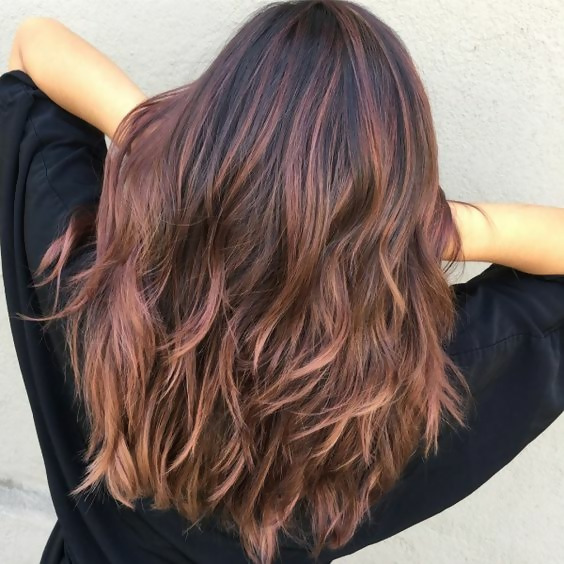 30 Delicious Rose Gold Hair Color Ideas For The All Season 28