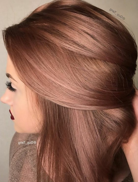 30 Delicious Rose Gold Hair Color Ideas For The All Season 30