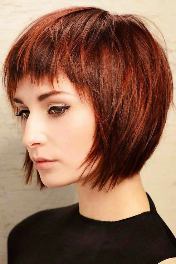 30 Amazing Looks For Short Hair With Bangs 26