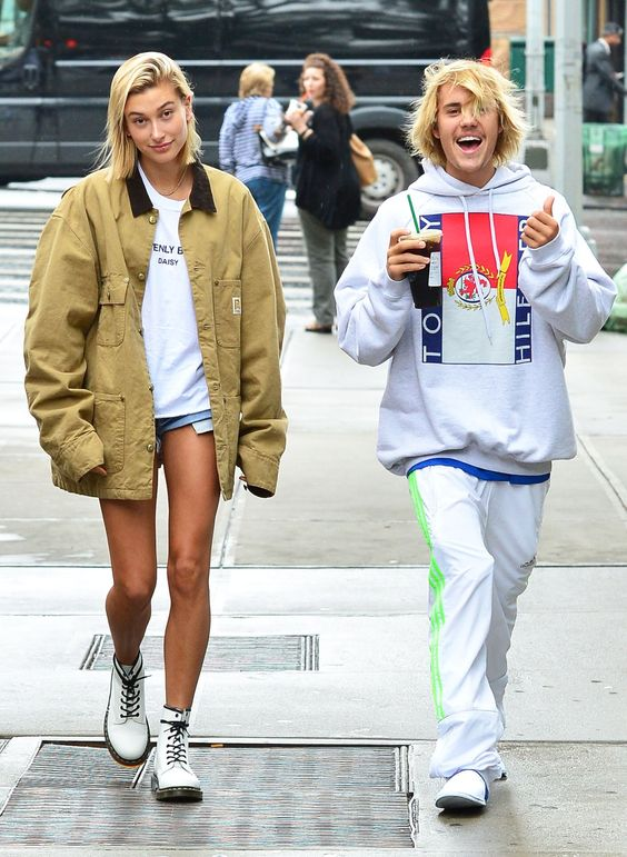 28 Hailey Baldwin's Tomboy Style Outfit Ideas to Copy 4