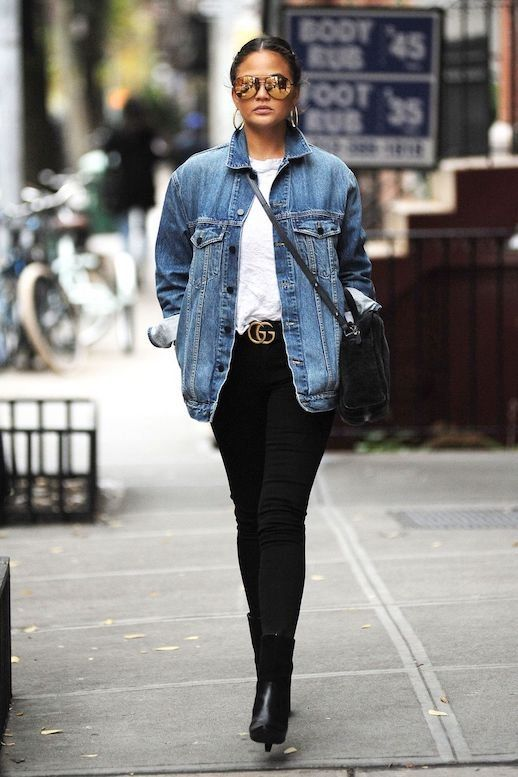 How to Wear a Denim Jacket: 33 Jean Jacket Outfit Ideas 4