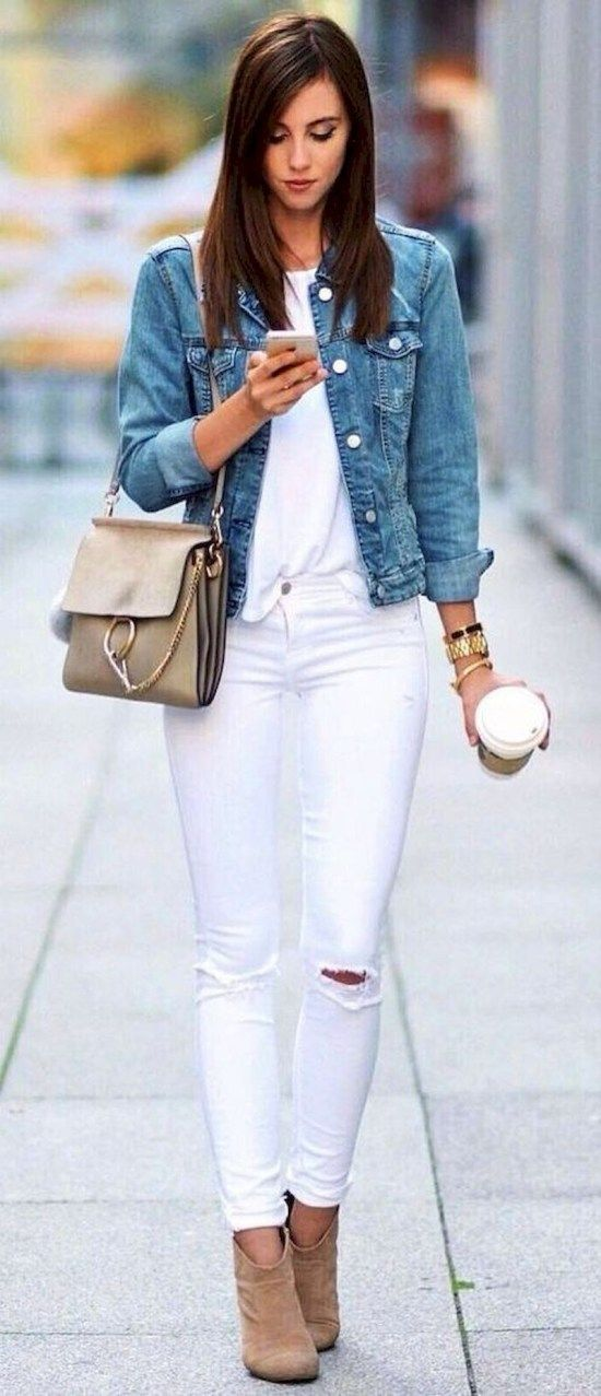How to Wear a Denim Jacket: 33 Jean Jacket Outfit Ideas 10