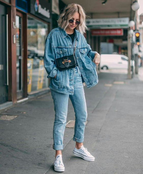 How to Wear a Denim Jacket: 33 Jean Jacket Outfit Ideas 31