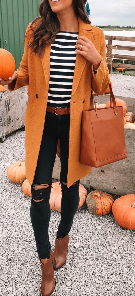 35 Trendy Fall Outfits You Need to Try in 2019 1