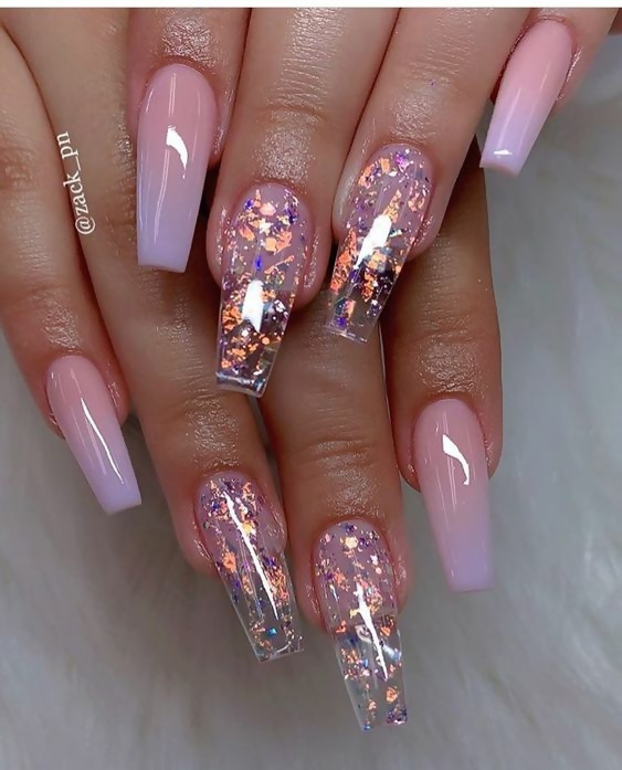 50 Different Ways To Style Glitter Nails 5