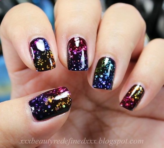 50 Different Ways To Style Glitter Nails 47
