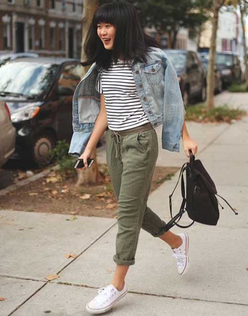 What to Wear With Green Pants: 32 Modern Outfit Ideas 3