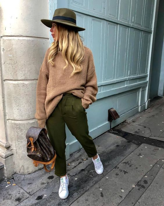 What to Wear With Green Pants: 32 Modern Outfit Ideas 8