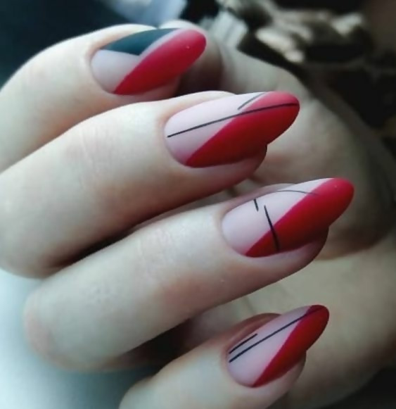 30 Creative Black Acrylic Nails Design Ideas to Try 22