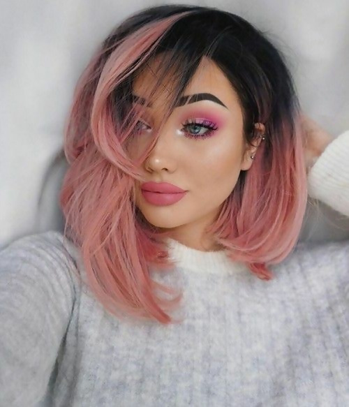 30 Picture-Perfect Styles For Pastel Pink Hair 4