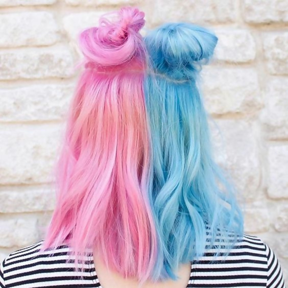 30 Picture-Perfect Styles For Pastel Pink Hair 7