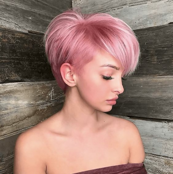 30 Picture-Perfect Styles For Pastel Pink Hair 10