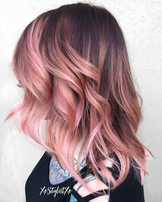 30 Picture-Perfect Styles For Pastel Pink Hair 11