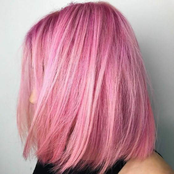 30 Picture-Perfect Styles For Pastel Pink Hair 15