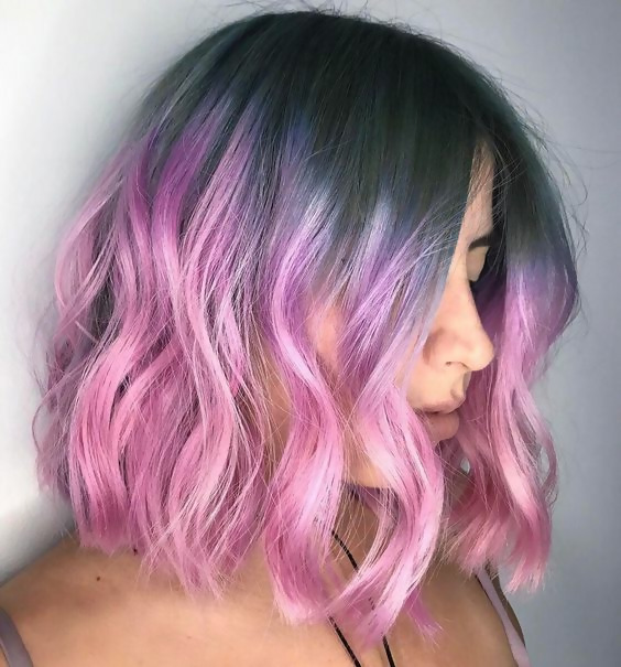 30 Picture-Perfect Styles For Pastel Pink Hair 22