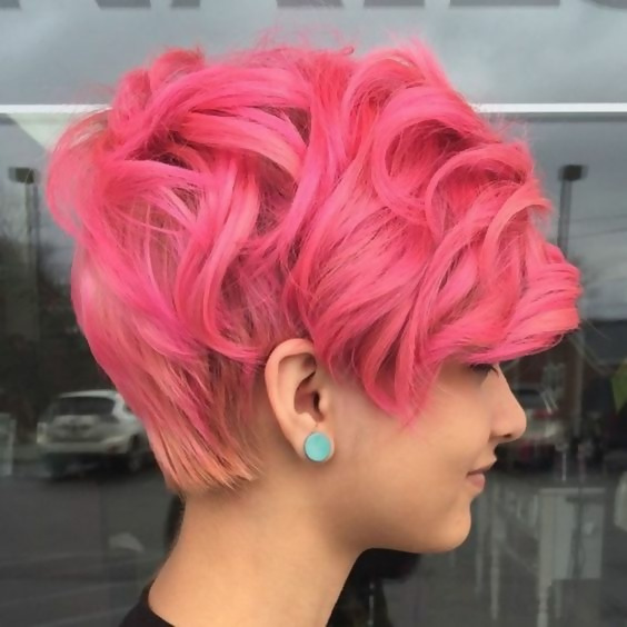 30 Picture-Perfect Styles For Pastel Pink Hair 26