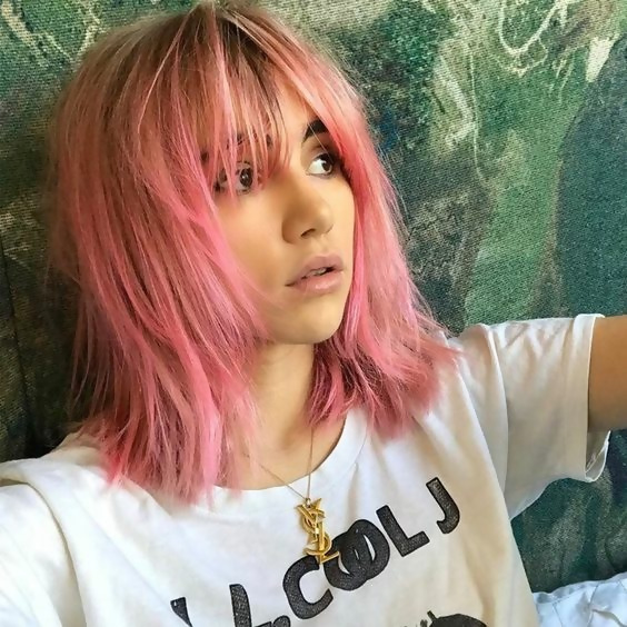 30 Picture-Perfect Styles For Pastel Pink Hair 29