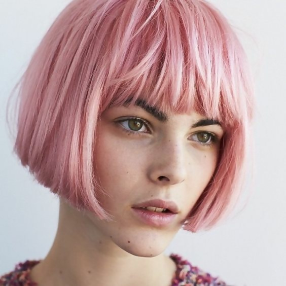 30 Picture-Perfect Styles For Pastel Pink Hair 31