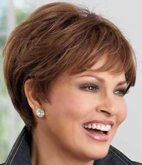 30 Simple and Classic Short Haircuts for Women Over 50