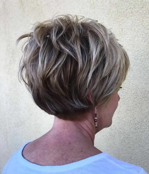30 Stylish Short Haircuts for Women Over 50 19