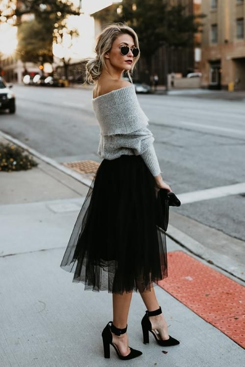 6 Best Tips and Ideas on How to Wear Tulle Skirt Outfits 3