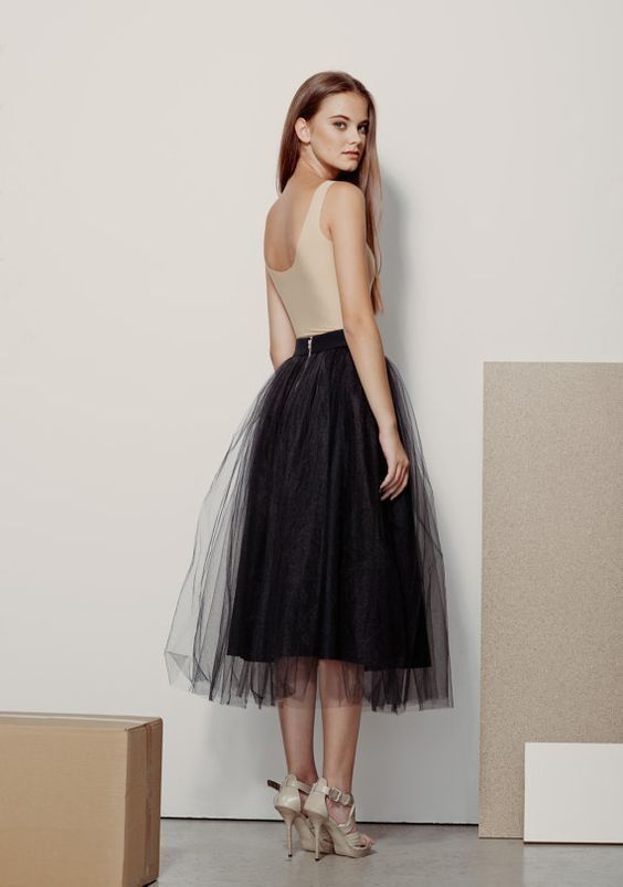 6 Best Tips and Ideas on How to Wear Tulle Skirt Outfits 5