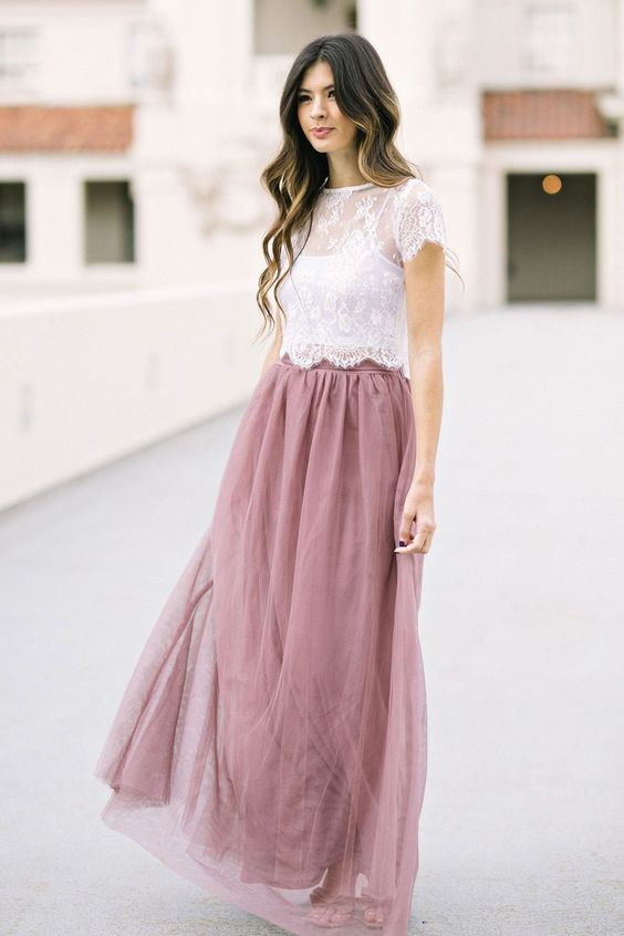 6 Best Tips and Ideas on How to Wear Tulle Skirt Outfits 9