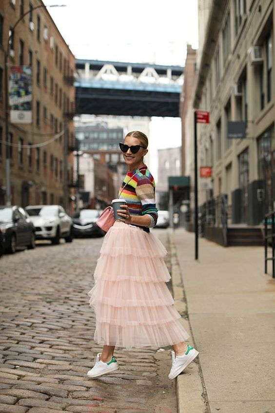 6 Best Tips and Ideas on How to Wear Tulle Skirt Outfits 13