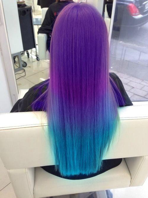 30 Gorgeous Purple Ombre Hair Color Ideas 2