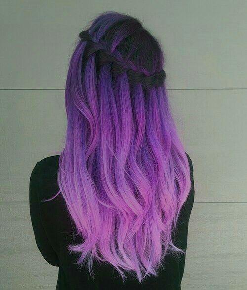 30 Gorgeous Purple Ombre Hair Color Ideas 3