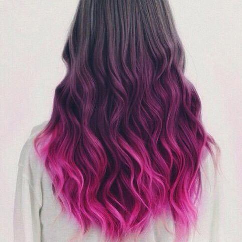 30 Gorgeous Purple Ombre Hair Color Ideas 4